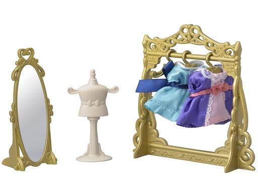 【新品】おもちゃ ファッションドレスショップ 「シルバニアファミリー」 タウンシリーズ