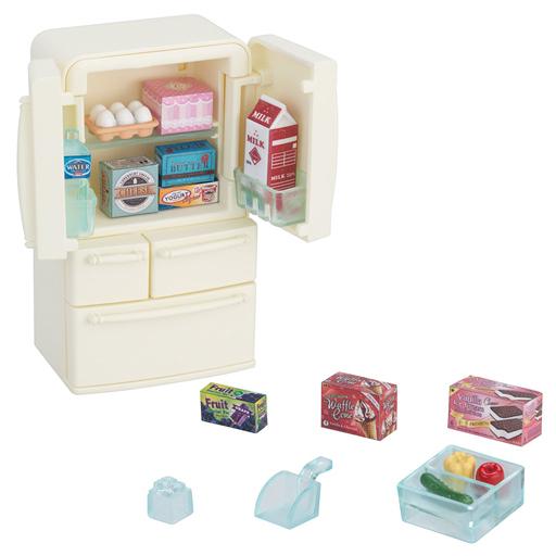 【新品】おもちゃ 冷蔵庫セット(5ドア) 「シルバニアファミリー」