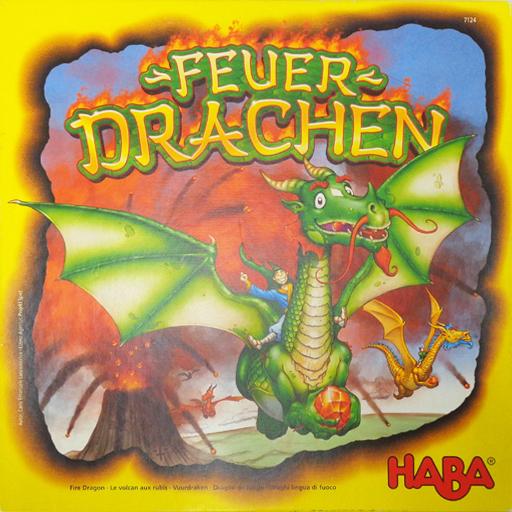 【中古】ボードゲーム [日本語訳無し] ファイアドラゴン (Feuer Drachen)