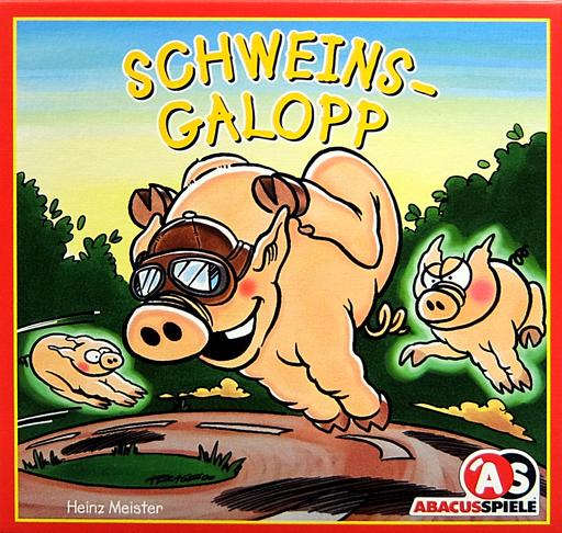 【中古】ボードゲーム [日本語訳無し] ギャロッピンピッグス 他言語版 (Galloping Pigs)
