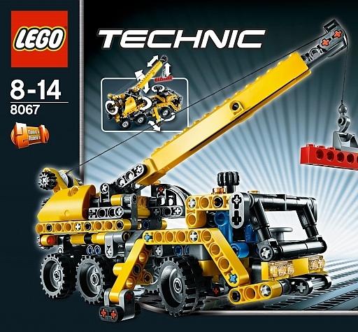 【中古】おもちゃ LEGO ミニモバイルクレーン 「レゴ テクニック」 8067