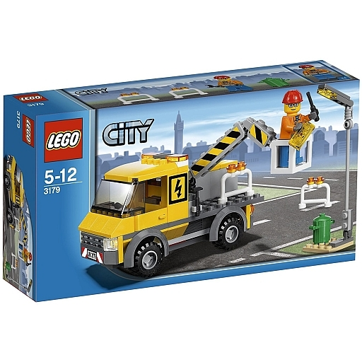 【中古】おもちゃ LEGO 修理トラック 「レゴ シティ」 3179
