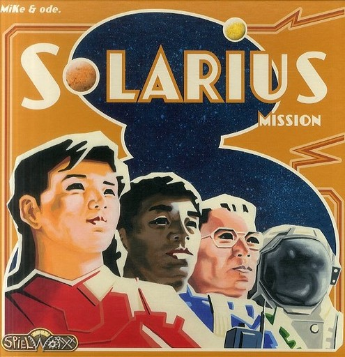 【中古】ボードゲーム ソラリウス・ミッション (Solarius Mission)