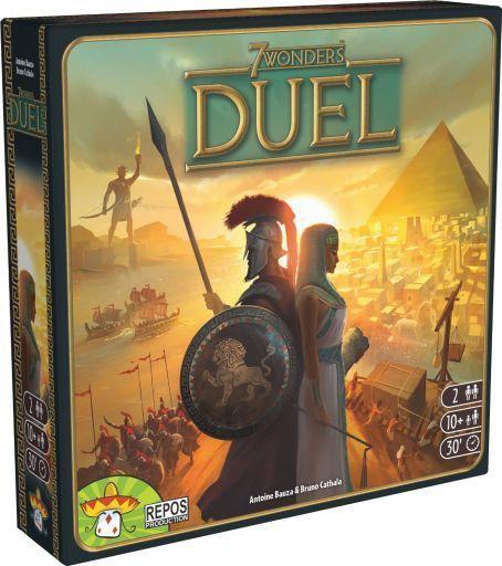 【中古】ボードゲーム 世界の七不思議:デュエル 多言語版 (7 Wonders : Duel)