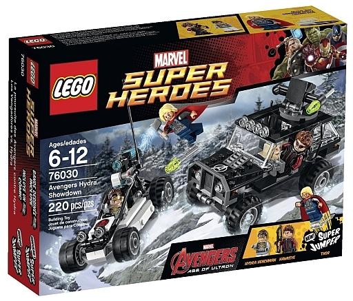 【中古】おもちゃ [ランクB] LEGO アベンジャーズとヒドラの決戦 「レゴ MARVEL スーパー・ヒーローズ」 76030