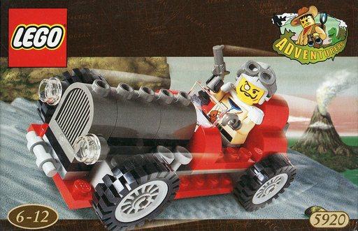 【中古】おもちゃ LEGO ダイノチェイサー 「レゴ アドベンチャーズ」 5920