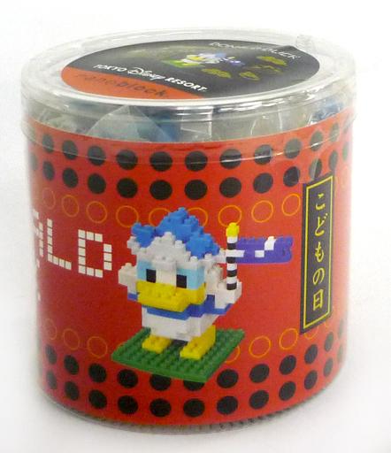 【中古】おもちゃ ナノブロック ドナルドダック(こどもの日) 「ディズニー」 東京ディズニーリゾート限定
