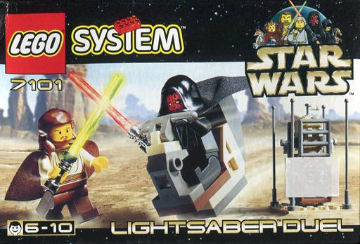 【中古】おもちゃ LEGO ライトセーバーデュエル 「レゴ システム スター・ウォーズ」 7101