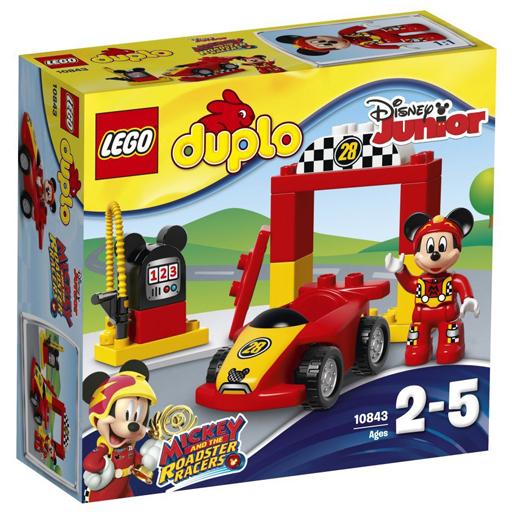 【予約】おもちゃ LEGO ミッキーのレース場 「レゴ デュプロ」 10843