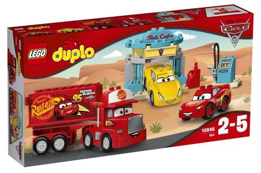 【中古】おもちゃ LEGO フローのカフェ 「レゴ デュプロ」 10846