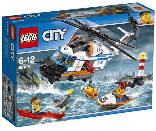 【中古】おもちゃ LEGO 海上レスキューヘリコプター 「レゴ シティ」 60166