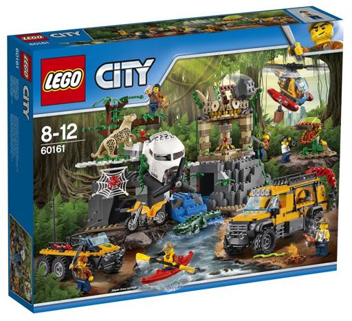 【新品】おもちゃ LEGO ジャングル探検隊 「レゴ シティ」 60161