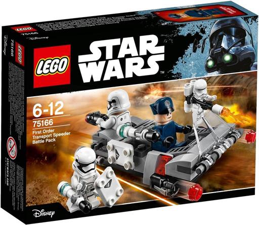 【新品】おもちゃ LEGO ファースト・オーダー トランスポート・スピーダー 「レゴ スター・ウォーズ」 75166