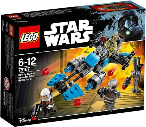 【新品】おもちゃ LEGO バウンティー・ハンターのスピーダー・バイク 「レゴ スター・ウォーズ」 75167