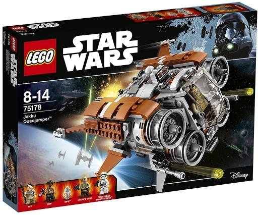【新品】おもちゃ LEGO ジャクーのクワッドジャンパー 「レゴ スター・ウォーズ」 75178