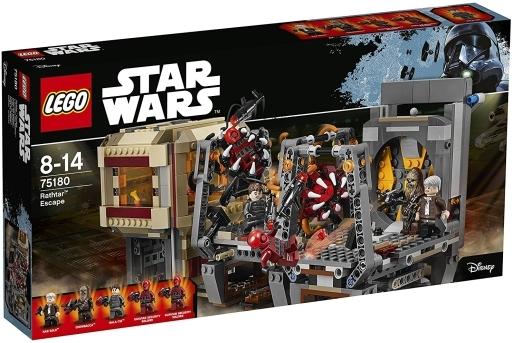 【新品】おもちゃ LEGO ラスターの脱出 「レゴ スター・ウォーズ」 75180