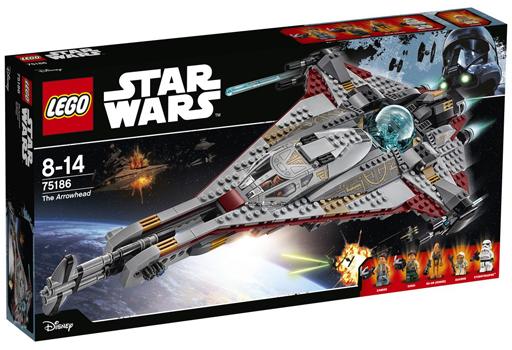 【新品】おもちゃ LEGO アローヘッド 「レゴ スター・ウォーズ」 75186