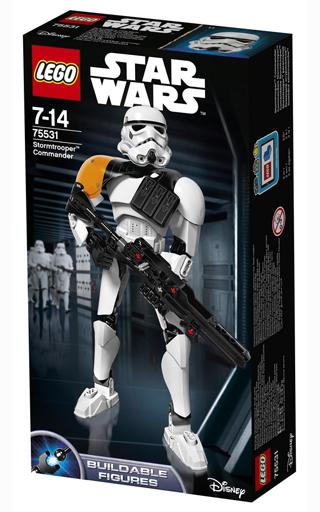 【中古】おもちゃ LEGO ストームトルーパー コマンダー 「レゴ スター・ウォーズ」 75531