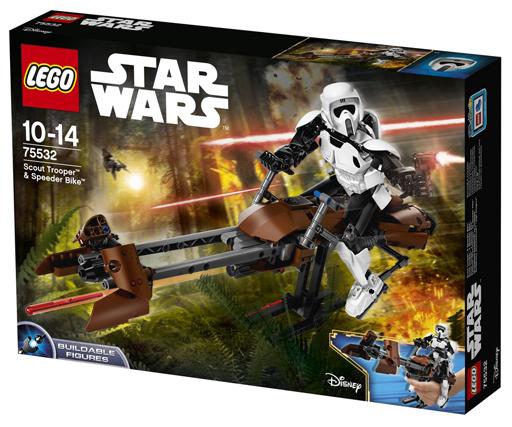 【新品】おもちゃ LEGO スカウト・トルーパー&スピーダー・バイク 「レゴ スター・ウォーズ」 75532