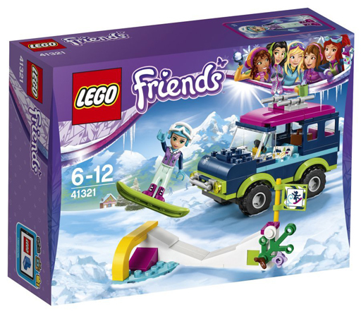 【中古】おもちゃ LEGO スキーリゾート スノーボードトリップ 「レゴ フレンズ」 41321