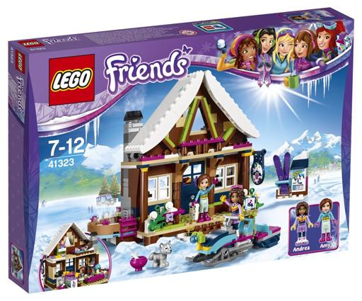 【中古】おもちゃ LEGO スキーリゾート スノーロッジ 「レゴ フレンズ」 41323
