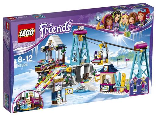 【中古】おもちゃ LEGO ハートレイク キラキラスキーリゾート 「レゴ フレンズ」 41324