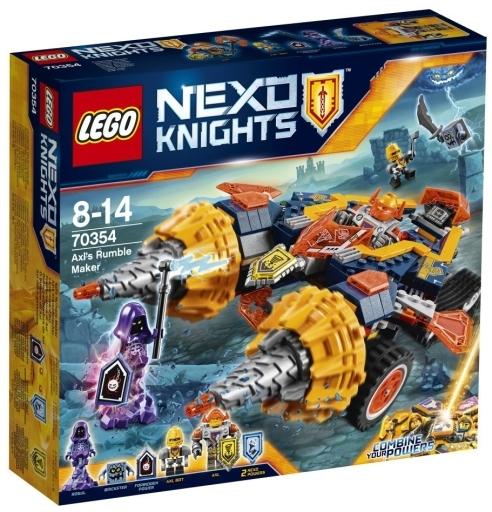 【予約】おもちゃ LEGO アクセルのランブル・メイカー 「レゴ ネックスナイツ」 70354