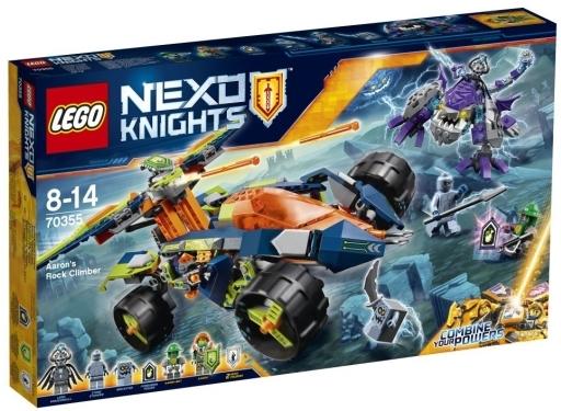 【新品】おもちゃ LEGO アーロンのロッククライマー 「レゴ ネックスナイツ」 70355