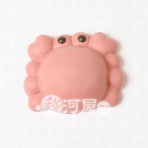 【新品】スクイーズ(食品系/おもちゃ) 柔らか動物パン かに マザーガーデン