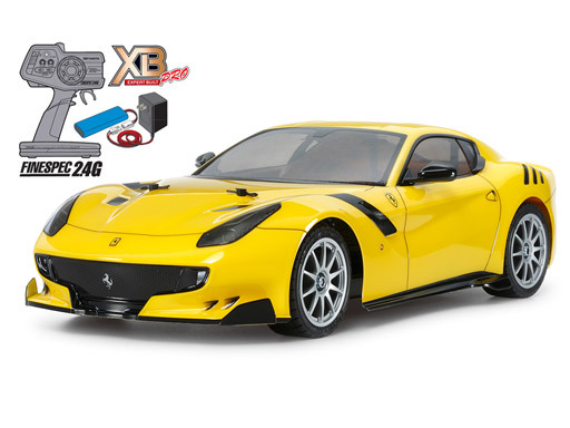 【新品】ラジコン 車(本体) ラジコン 1/10 フェラーリ F12tdf TT-02シャーシ 「XBエキスパートビルトシリーズ」 [57902]