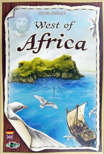 【中古】ボードゲーム [初回特典付/日本語訳無し] ウエスト・オブ・アフリカ (West of Africa )