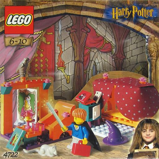 【中古】おもちゃ LEGO グリフィンドール寮 「レゴ ハリー・ポッター」 4722