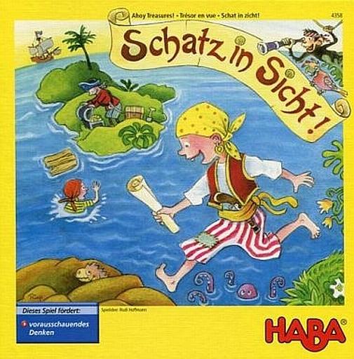 【中古】ボードゲーム [日本語訳無し] お宝はまぢか (Schatz in Sicht)
