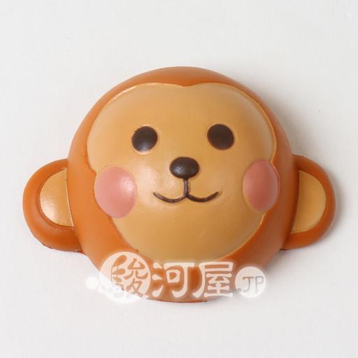 【新品】スクイーズ(食品系/おもちゃ) 柔らか動物パン さる マザーガーデン