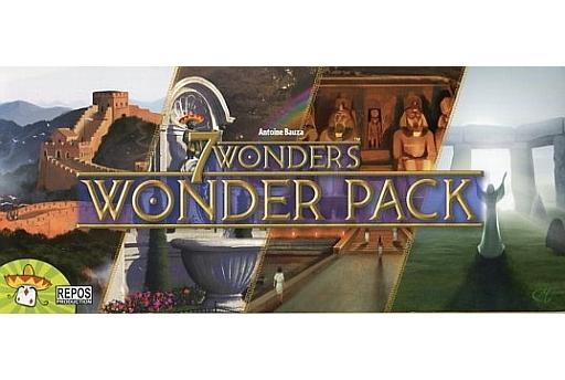 【中古】ボードゲーム [日本語訳無し] 世界の七不思議:ワンダーパック 多言語版 (7 Wonders: Wonder Pack)