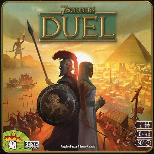 【中古】ボードゲーム [日本語訳無し] 世界の七不思議:デュエル (7 Wonders Duel)