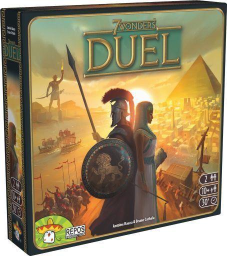 【中古】ボードゲーム [コイン欠品] 世界の七不思議:デュエル 多言語版 (7 Wonders : Duel)