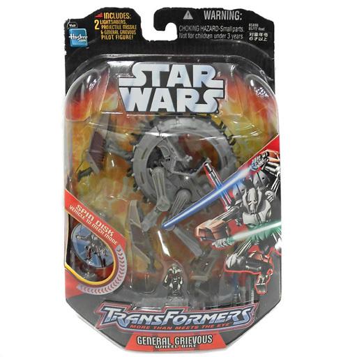 【中古】おもちゃ グリーバス将軍/グリーバス・ホイール・バイク 「トランスフォーマー×スター・ウォーズ」