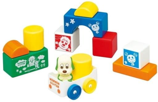 【中古】おもちゃ ワンワンとうーたんのはじめてのつみきセット 「ワンワンとうーたん」 5238