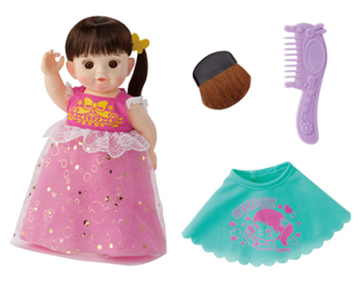 【新品】おもちゃ おけしょうしてあげるね!ぽぽちゃん ロングヘア お風呂タイプ