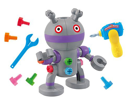 セガトイズ 新品 おもちゃ くみたてDIY うごくぞっ! ねじねじだだんだん 「それいけ!アンパンマン」