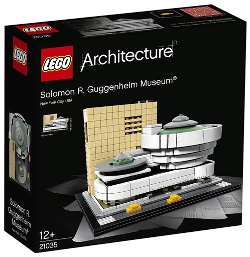 【新品】おもちゃ LEGO ソロモン・R・グッゲンハイム美術館 「レゴ アーキテクチャー」 21035