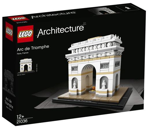 【中古】おもちゃ LEGO 凱旋門 「レゴ アーキテクチャー」 21036