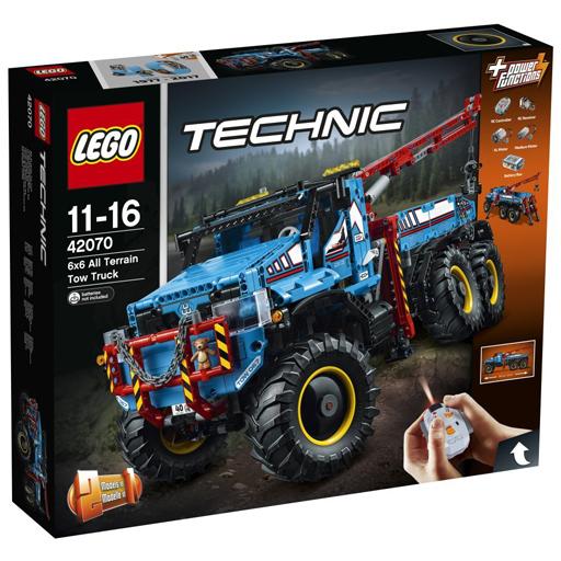 【中古】おもちゃ LEGO 6×6 全地形マグナムレッカー車 「レゴ テクニック」 42070