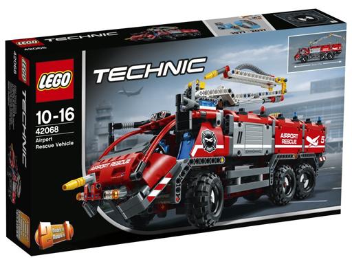 【中古】おもちゃ LEGO 空港用火災救助車 「レゴ テクニック」 42068