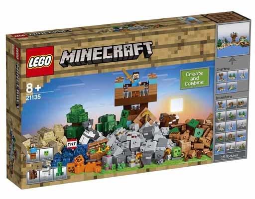 【新品】おもちゃ LEGO クラフトボックス 2.0 「レゴ マインクラフト」 21135