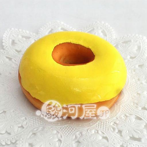 【新品】スクイーズ(食品系/おもちゃ) 野いちご 柔らかレモンドーナツ マザーガーデン