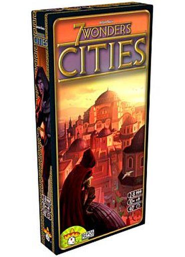 【中古】ボードゲーム [付属品欠品] 世界の七不思議:都市 多言語版 (7 Wonders: Cities)
