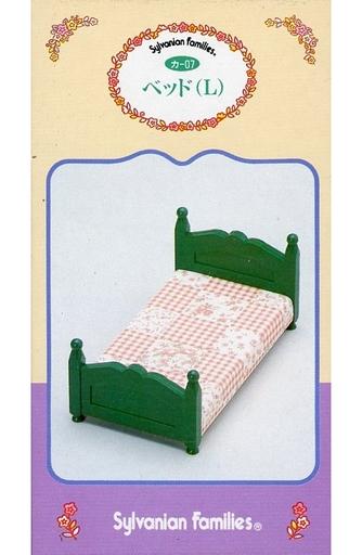 【中古】おもちゃ ベッド(L) 「シルバニアファミリー」