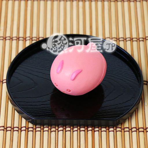 【新品】スクイーズ(食品系/おもちゃ) 野いちご 柔らか桃うさぎまんじゅう マザーガーデン